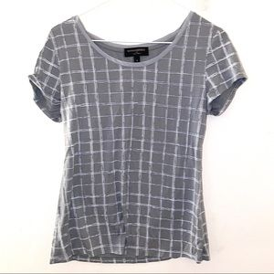 Banana republic S luxe Touch small gray TShirt